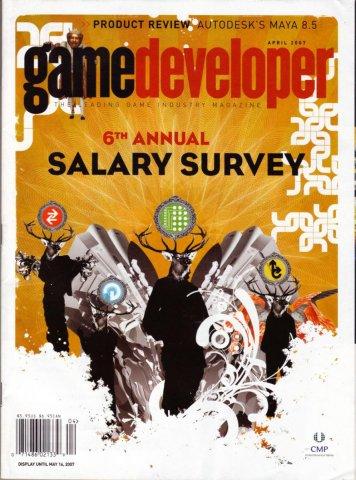 Game Developer 134 Apr 2007