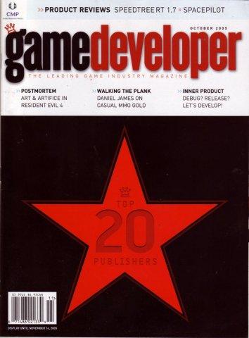 Game Developer 117 Oct 2005