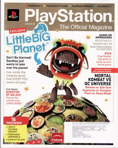 PlayStation The Official Magazine (USA) Issue 009 August 2008
