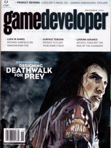 Game Developer 129 Nov 2006