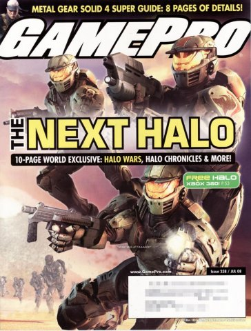 GamePro Issue 238 July 2008