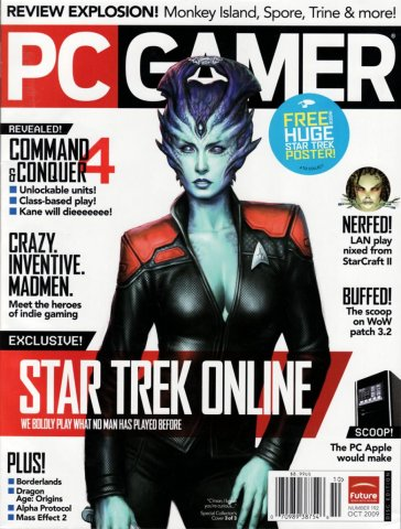 PC Gamer Issue 192 October 2009 (cover 3)