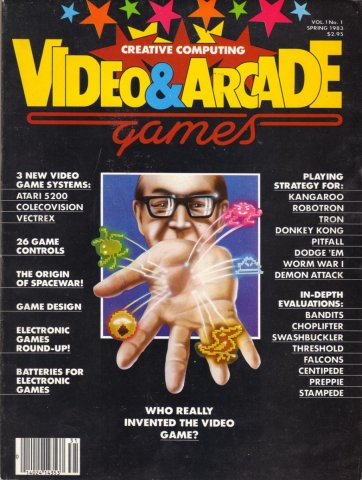 Creative Computing Video and Arcade Games Issue 1