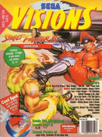 Sega Visions Issue 012 (April/May 1993)