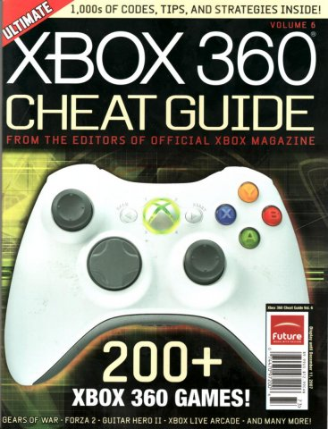Official xbox issue  cheatguide6