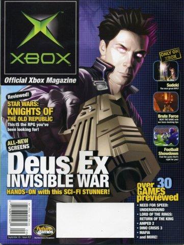Official Xbox Magazine 022 September 2003