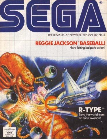 Team Sega Newsletter Issue 5