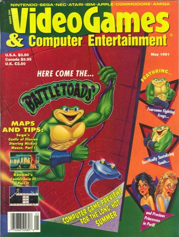 Video Games & Computer Entertainment Issue 28 May 1991