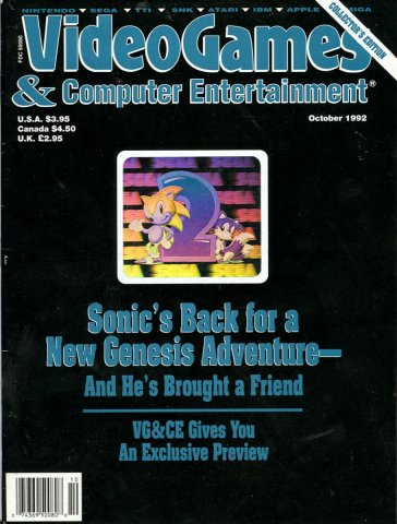 Video Games & Computer Entertainment Issue 45 October 1992