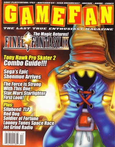 Gamefan Issue 88 December 2000 (Volume 8 Issue 12)