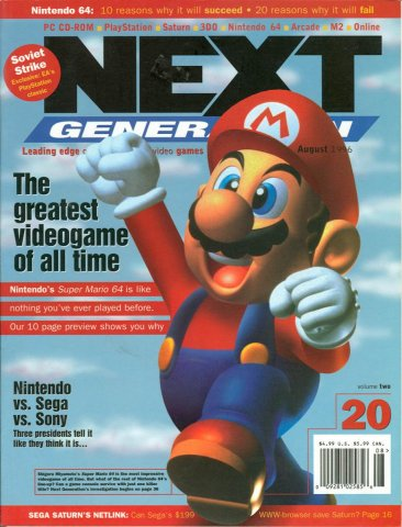 Next Generation Issue 20 August 1996