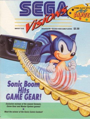 Sega Visions Issue 007 (Winter 1991/92)