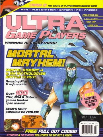 Ultra Game Players Issue 099 (July 1997)