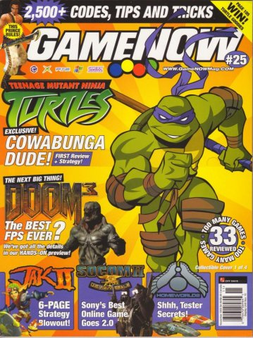GameNOW Issue 25 November 2003