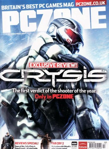 PC Zone Issue 188 Christmas 2007
