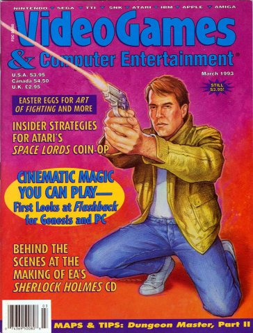 Video Games & Computer Entertainment Issue 50 March 1993