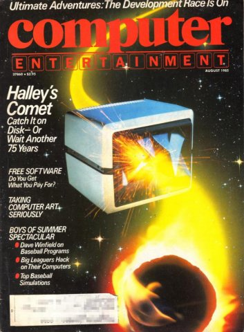 Computer Entertainment Aug 1985