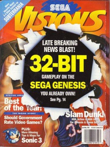 Sega Visions Issue 018 (April/May 1994)