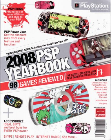 Playstation The Official Magazine editors 2008 PSP Yearbook