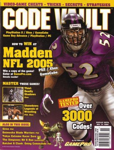Code Vault Issue 27 October/November 2004