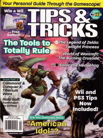 Tips & Tricks Issue 144 February 2007