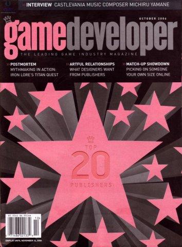 Game Developer 128 Oct 2006