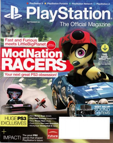 PlayStation The Official Magazine (USA) Issue 023 September 2009