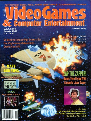 Video Games & Computer Entertainment Issue 21 October 1990