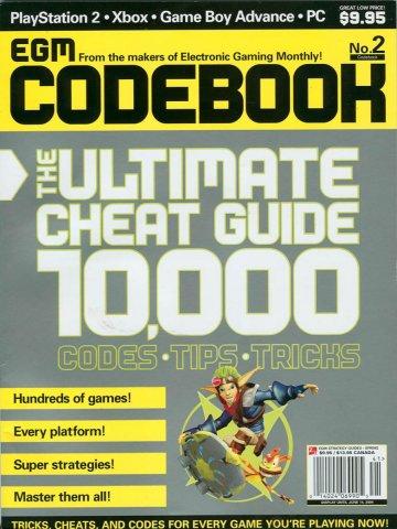 Codebook 002 Spring 2004