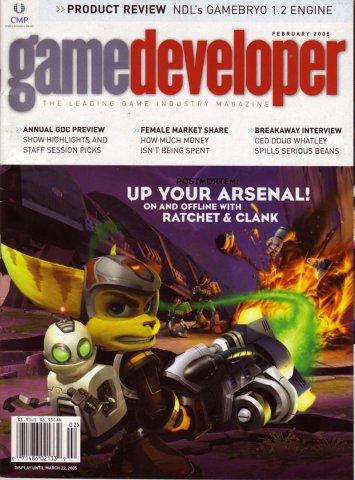 Game Developer 110 Feb 2005