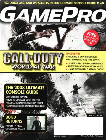 GamePro Issue 241 October 2008