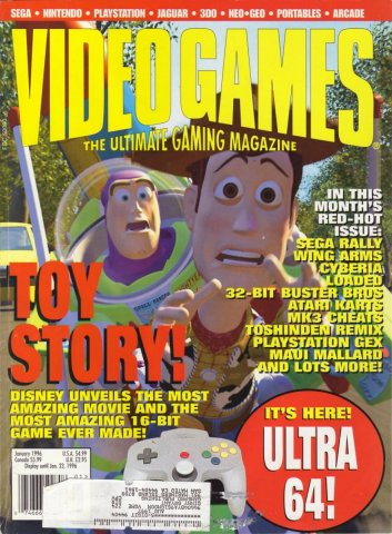Video Games Issue 84 January 1996