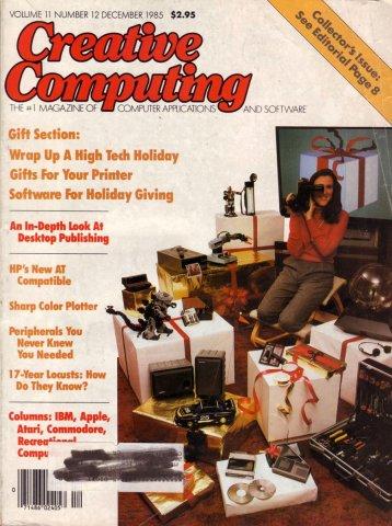 Creative Computing Vol 11 Num 12 Dec 1985