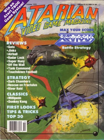 Atarian Video Games  Issue 003 October 1989