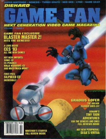 Diehard Gamefan Issue 04 February 1993 (Volume 1 Issue 4)