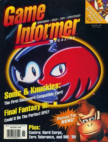 Game Informer Issue 019 November 1994