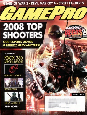 GamePro Issue 234 March 2008