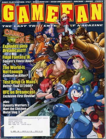 Gamefan Issue 86 October 2000 (Volume 8 Issue 10)