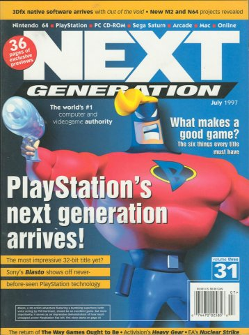 Next Generation Issue 31 July 1997