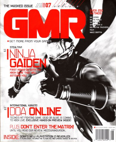 GMR Issue 07 August 2003