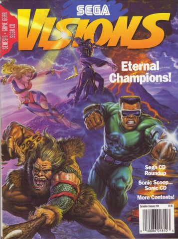Sega Visions Issue 016 (December/January 1993/94)