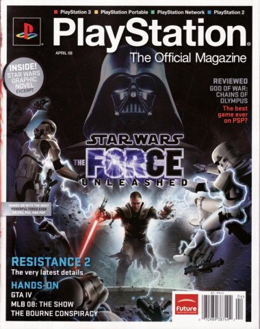 PlayStation The Official Magazine (USA) Issue 005 April 2008