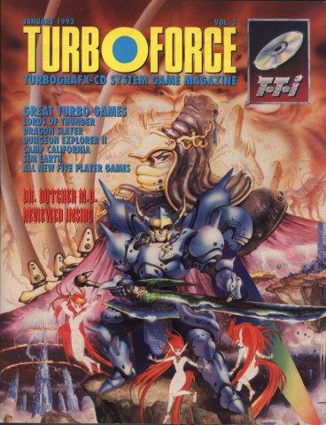 Turbo Force Vol 03 Jan 1993 Egm 043 Supp