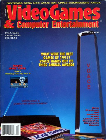 Video Games & Computer Entertainment Issue 37 February 1992