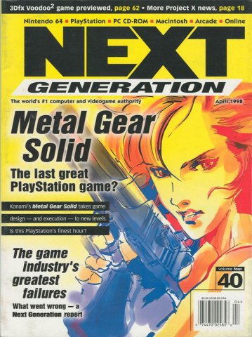 Next Generation Issue 40 April 1998