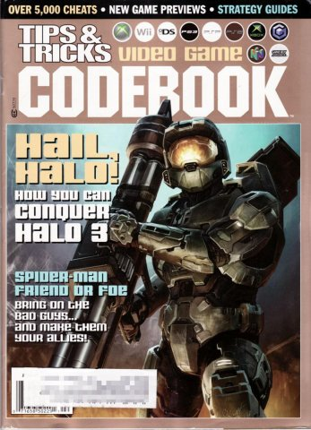 Tips & Tricks Video Game Codebook January-February 2008