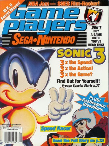 Game Players Issue 056 February 1994