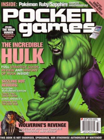 Pocket Games Issue 12 (Summer 2003)