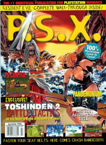 PSX Issue 05 (June/July 1996)