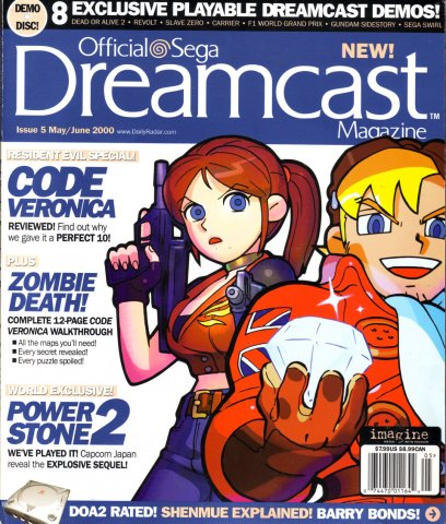 Official Sega Dreamcast Magazine Issue 005 (May 2000)